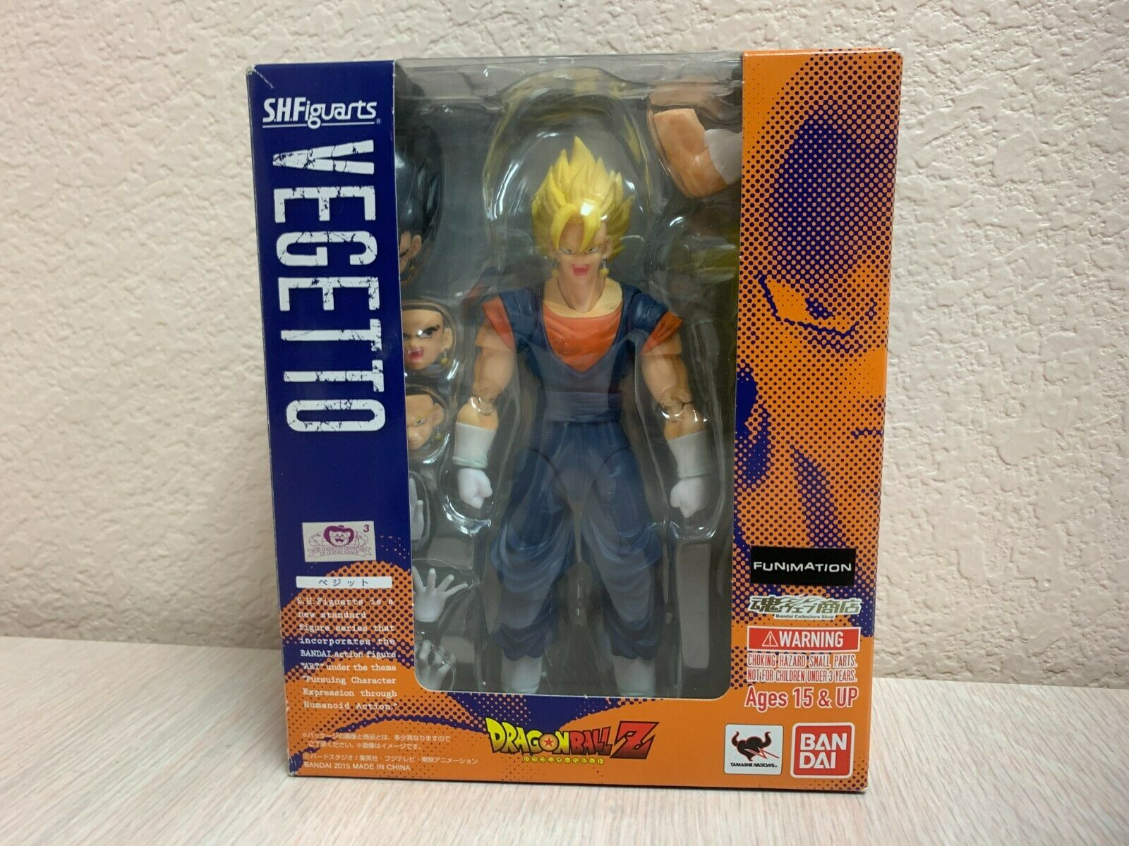 Anime Figures Stand Explode Effect Z S.H.Figuarts Tamashii Dolls Yellow IN STOCK