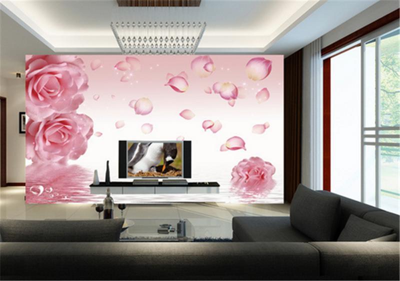 3D 3D 3D Rosa Petali di fiori 883 Carta Da Parati Murale Carta Da Muro Stampa Carta Da Parati Murales UK 4547fe