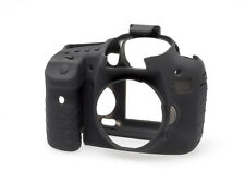 Black Silicone Skin/Cover/Armour for Canon 7D by easyCover UK stock