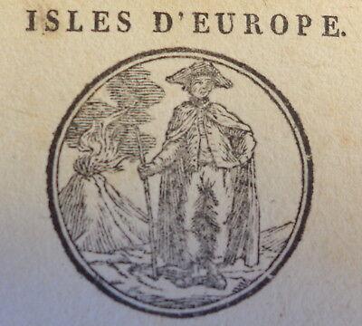 Geographie Carte Da Gioco Playing Cards Paris 1805 Usa Italia Africa Asia