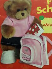 New Bearrific Build-A-Bear Top Of The Class Outfit & Craft & Activity Book