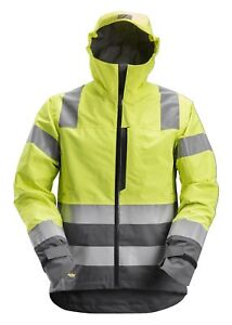 19c90c2a9179 Image is loading Snickers-1330-AllroundWork-High-Vis-WP-Shell-Jacket-