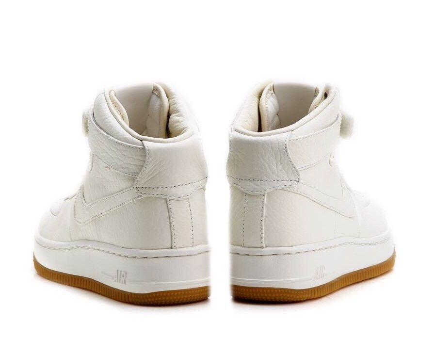 Damenschuhe NIKE AF1 UPSTEP HI PINNACLE (857665 SIZE 4.5 EUR 38 (857665 PINNACLE 100) SAIL/GUM LEATHER 3d6d65
