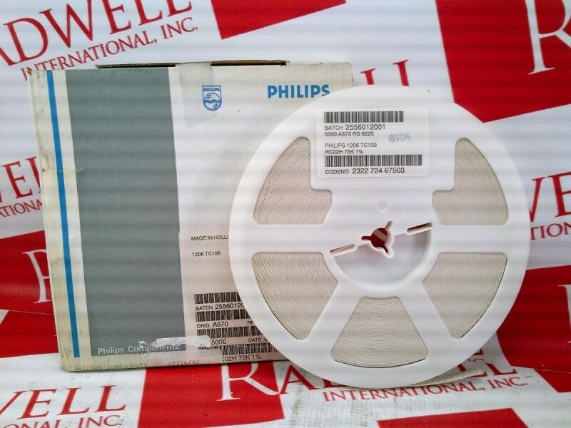 PHILLIPS RC02H-75K-1   RC02H75K1 (NEW IN BOX)