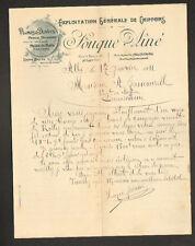 """ALBI (81) CHIFFONS PLUMES DUVETS PEAUX METAUX """"SOUQUE Ainé"""" en 1911"""