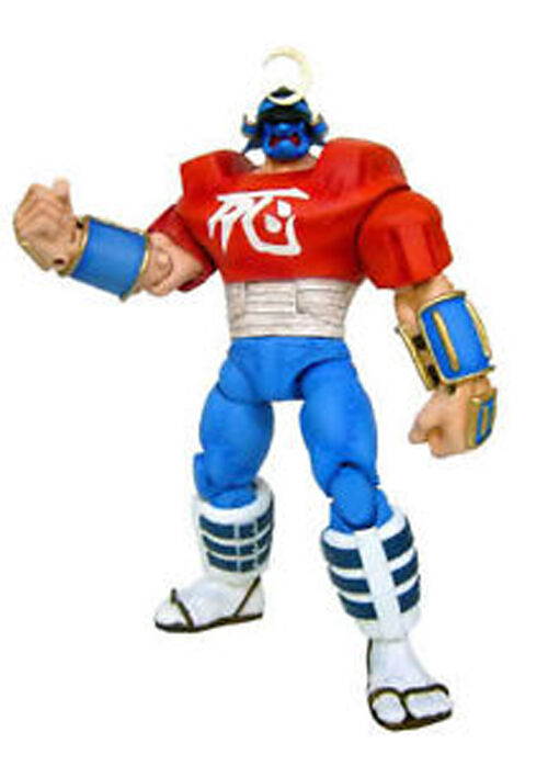 Street Fighter Round 1 Sodom Action-Figur - Sota Toys Capcom