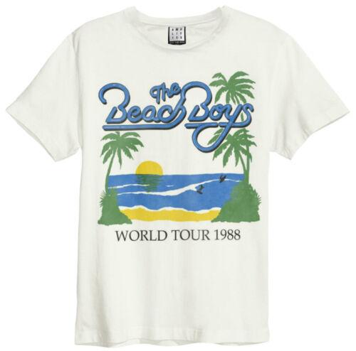 """THE BEACH BOYS/"""" 1988 tour /""""T-Shirt-AMP-NOUVEAU /& OFFICIEL!"""