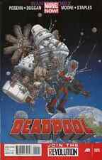 DEADPOOL #5 MARVEL NOW NEW 2013 RELEASE vs ZOMBIE REAGAN IN SPACE yup, it's true