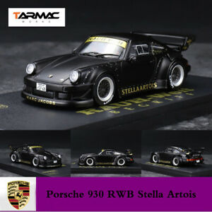 Tarmac Works 1:43 Porsche 930 Stella Artois RAUH-Welt Begriff RWB Car Model