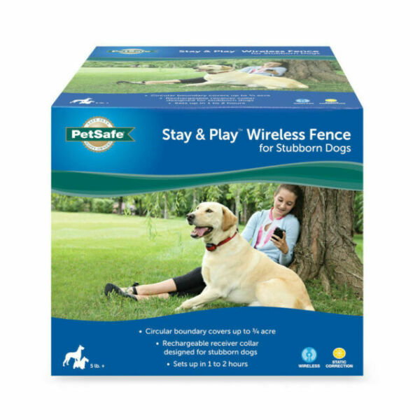 Play Wireless Fence For Stubborn Dogs, Above Ground Wireless Fence For Dogs