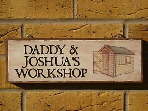 PERSONALISED-SHED-SIGN-WORKSHOP-SIGN-DAD-DADDY-POPS-PAPA-OWN-NAME-SIGN-GARAGE