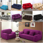 Elastic Soft Polyester Spandex Couch Sofa Cover Slipcover Protector No-fading AU