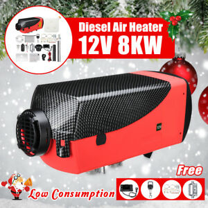 8KW-12V-Diesel-Air-Heater-LCD-Thermostat-Quiet-8000W-For-Trucks-Boat-Car-Trailer