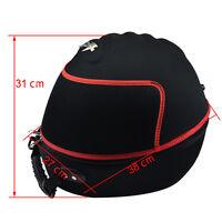 Motorcycle Helmet Bag Carrying Case Backpack Full Face Open Face Black 31mm