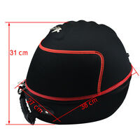 Motorcycle Helmet Bag Carrying Case Backpack Full Face Open Face Black 31mm