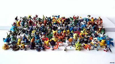 Lot De 24pcs Pokemon Monsters Figurine Figure Jouets Random Mixed Lot FR 1.5-3cm