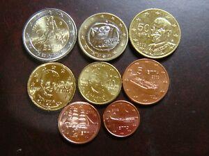 Grecia 2002 Serie 8 Monedas Euro Smyndrnn-07224914-905157084