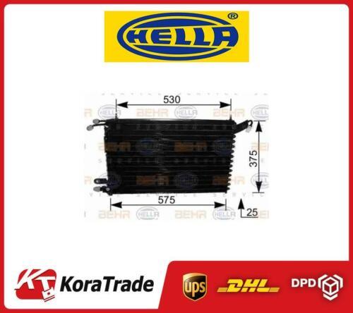 8FC351037411 Hella OE Excelente con aire A//C Condensador Radiador