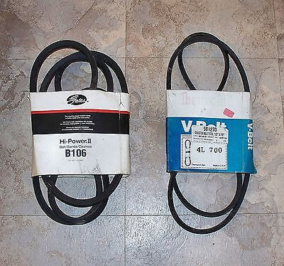 A-115 Power Drive V-Belt 1//2x117