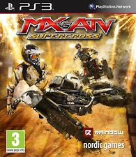 Mx Vs Atv: Supercross (ps3) Nuevo Sellado Pal Sony Playstation