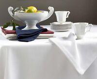Sferra Squire White Dinner Napkins Diamond Pique (set/4) Easy Care 22x22