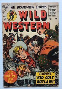 Wild-Western-50-July-1956-Kid-Colt-Atlas-Marvel