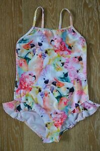 MOLO-Girls-Parrot-One-Piece-Swimsuit-Size-7-8-NWOT