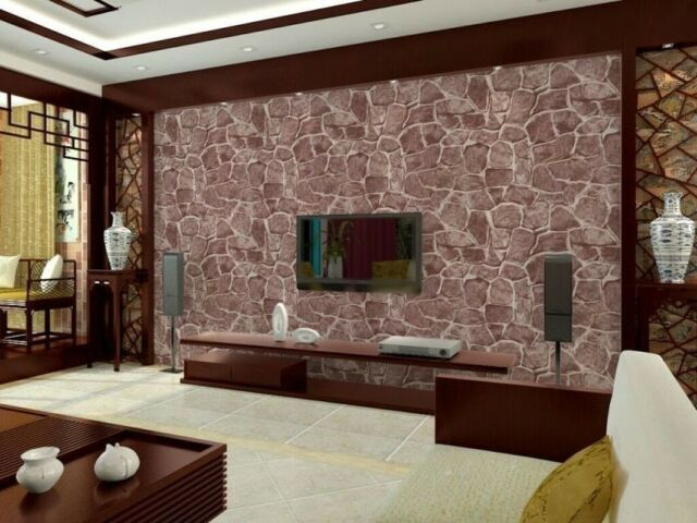 3d Brick Stone Pvc Self Adhesive Wall Sticker Panel Wallpaper Living Room Decor For Sale Online