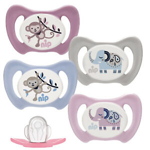 NIP-Babynuckel-Schnuller-Beruhigungssauger-Miss-Denti-Silikon