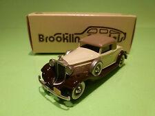 BROOKLIN MODELS BRK 6 PACKARD LIGHT 8 COUPE 1932 - BLUE 1:43 - NEAR MINT IN BOX