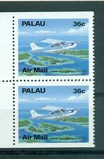 AEREI - PLANES PALAU 1989 Common Stamps Pair