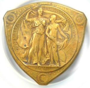 1904-Louisiana-Purchase-Expo-Award-Medal-H-30-70-Certified-NGC-AU58-Rare