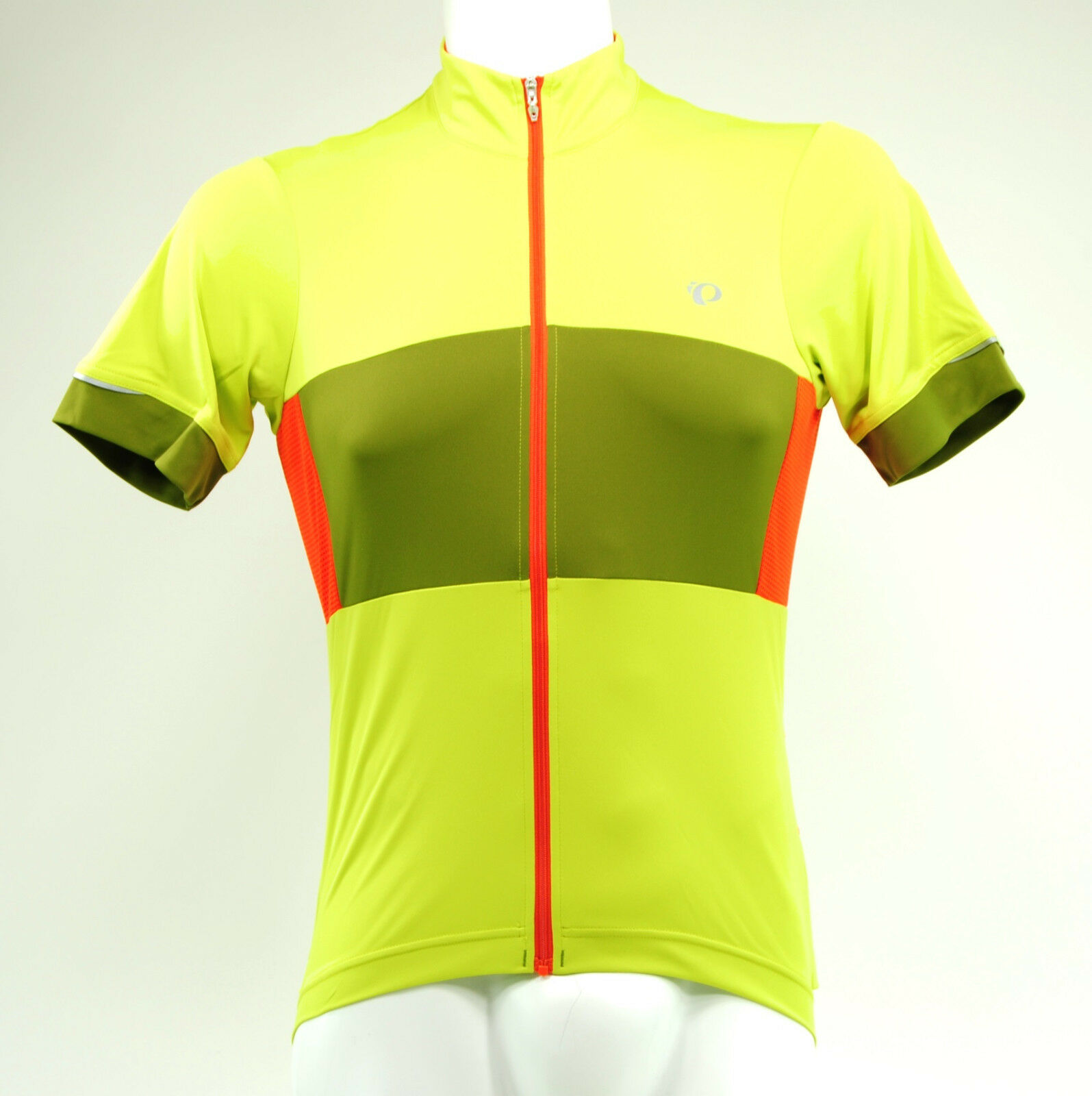 Pearl Izumi Elite Escape Semi Form Cycling Jersey, Citron/Avocado, Extra Large