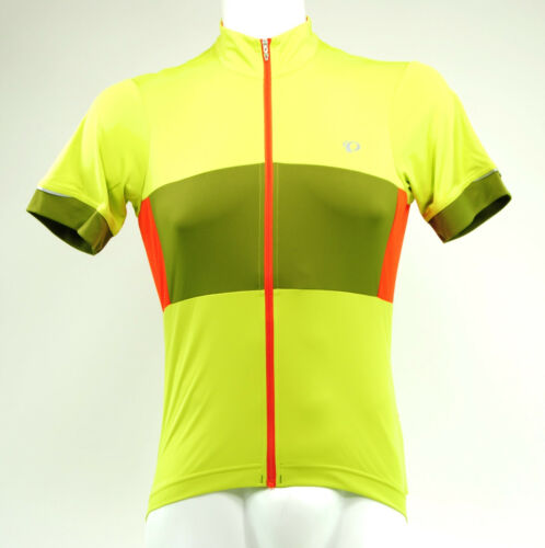 Pearl Izumi Elite Escape Semi Form Cycling Jersey Extra Large Citron//Avocado