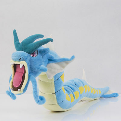 "Pokemon Blue Gyarados Plush Doll Soft Stuffed Figure Toy 23"" Collectible Gift"