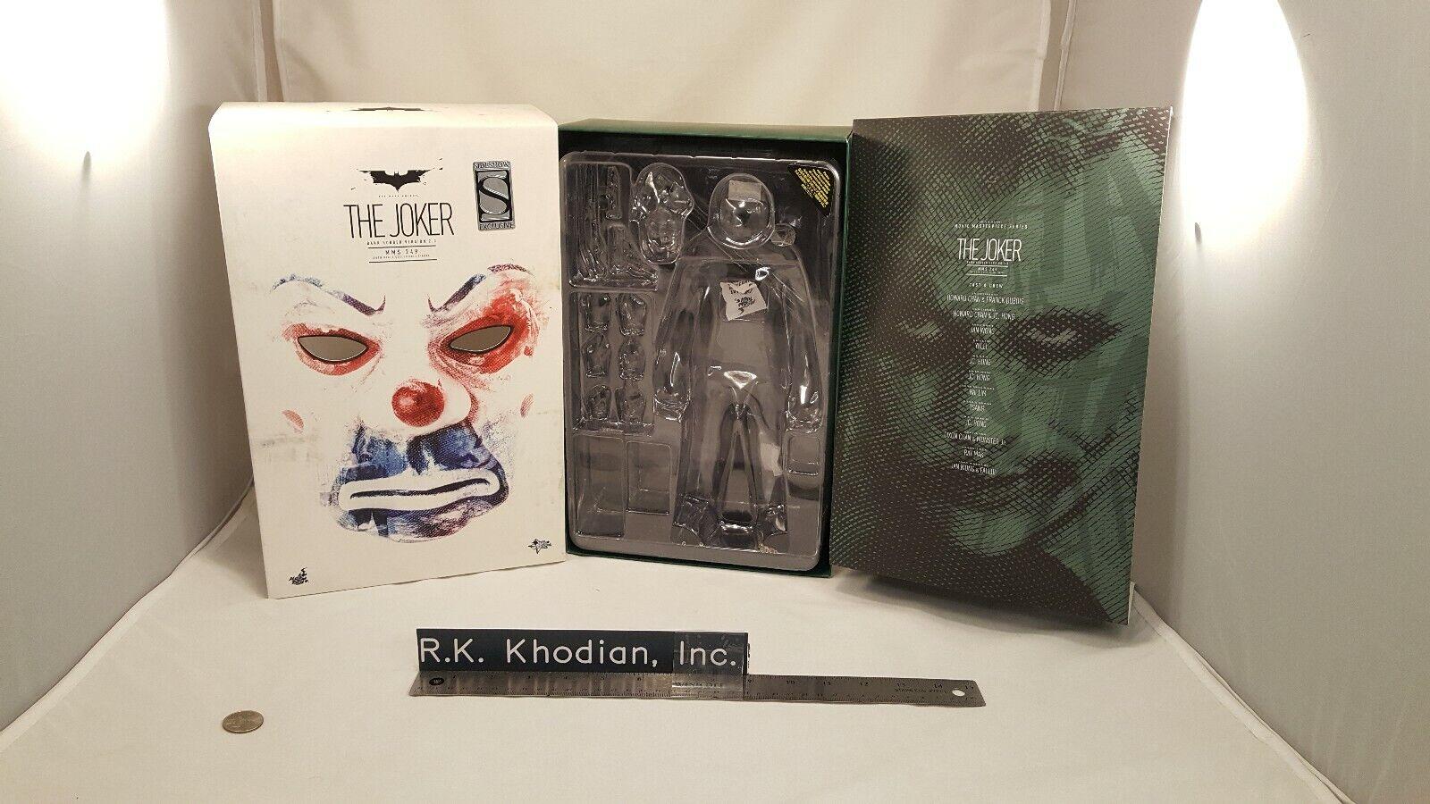 Hot Toys MMS249 Batman 1 6 Joker Joker Joker Bank Robber 2.0 action figure's Empty Art box f4f359