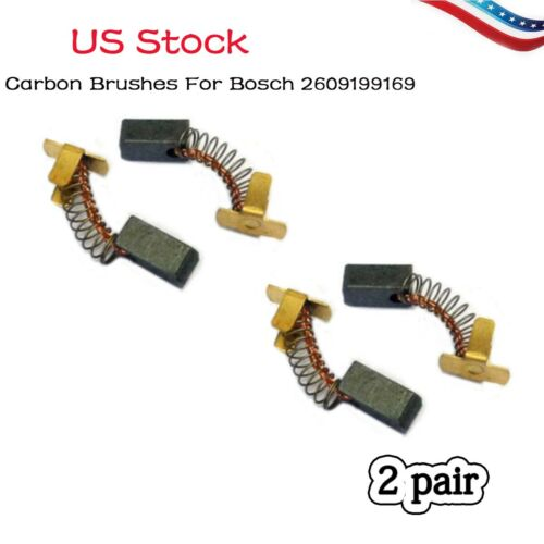 2x Carbon Brushes For Bosch 2609199169 GDS GDR 18 14.4 V-LI battery impact Drill