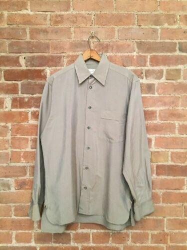 Ermenegildo Zegna Men's Shirt, 100% Silk, Made In