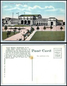 WASHINGTON-DC-Postcard-Union-Station-K29