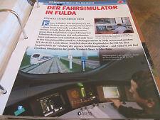 Deutsche Eisenbahngeschichte DB AG ab 1994 Der Fahrsimulator