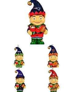 image is loading nfl football 2014 team logo resin elf christmas - Nfl On Christmas 2014