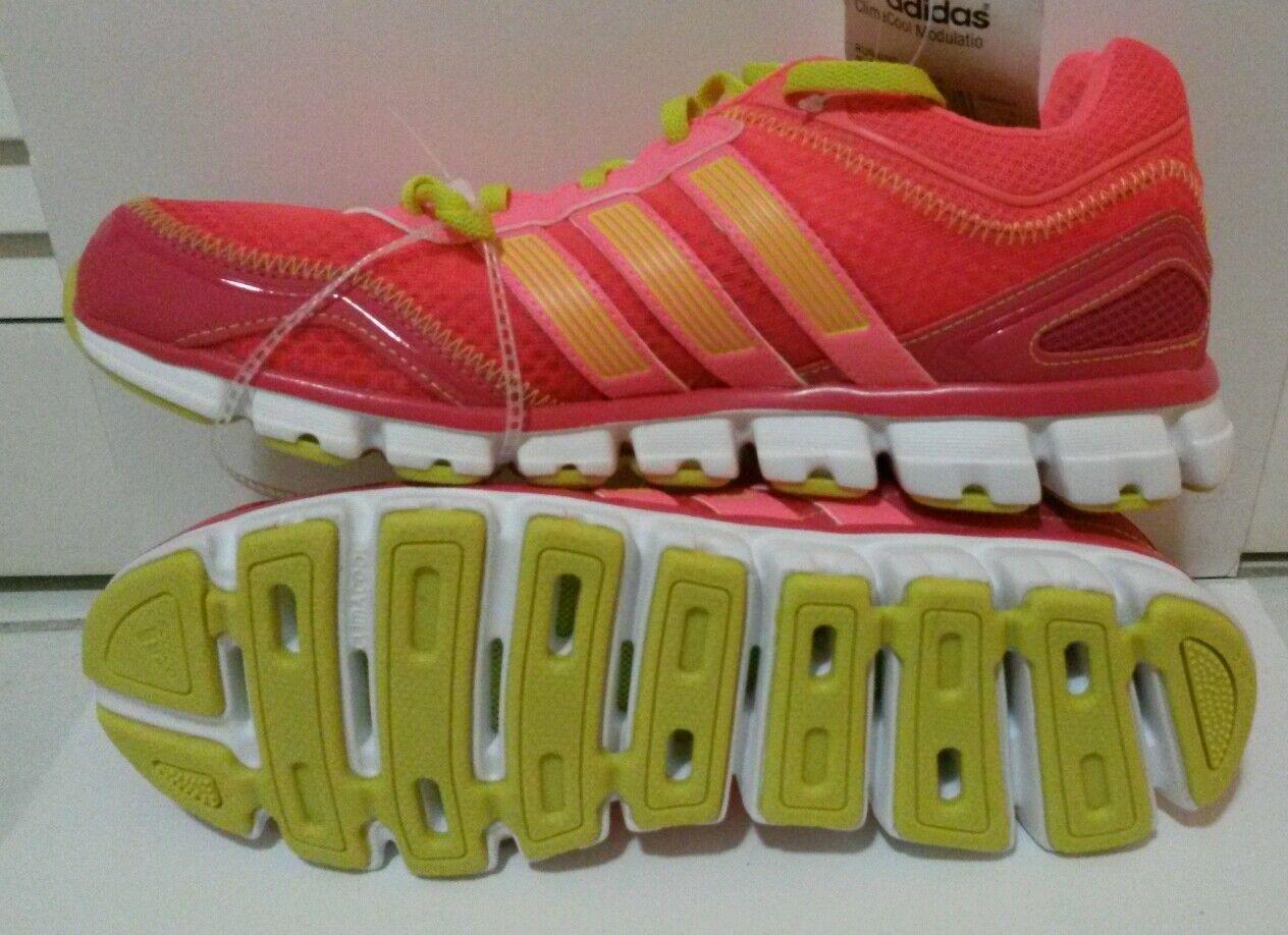 Adidas ClimaCool CC Modulation Donna Pink verde Running Sneaker Shoe 9.5
