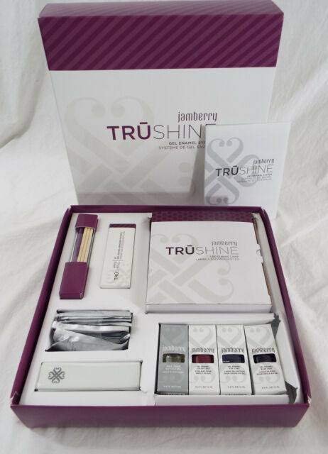 Jamberry Tru Shine Gel Enamel System LED Curing Lamp & Full Application Set