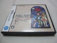 7-14 Days to USA. DS Final Fantasy Crystal Chronicles Ring of Fates Japanese Ver