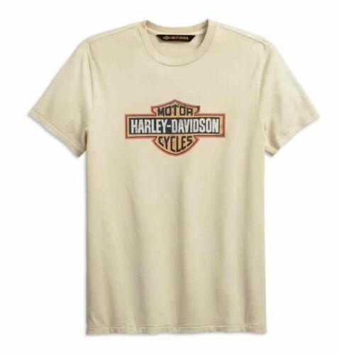99001-19VM Size Large Harley Davidson Men/'s B/&S Crackle Slim-Fit T-shirt
