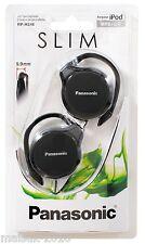 Panasonic RP-HS46K Ear-Hook Ultra Slim Headphones - Black
