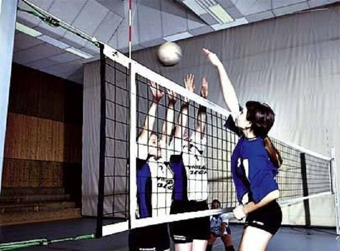 Grevinga® BASIC Volleyball - Turniernetz DVV II - Kevlar-Spannseil Kevlar-Spannseil - 141133 8fcc46