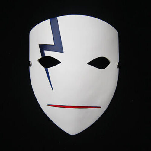 Darker than Black Anime Mask Cosplay Hei lee mask Halloween Prop full face masks