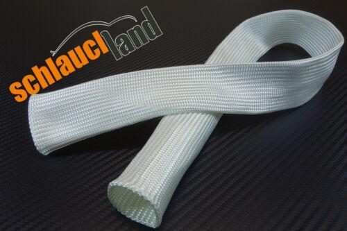 1m FITEX Hitzeschutzschlauch ID 25mm *** Kabelschutz Gewebeschlauch Hitze