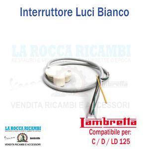 COMANDO DEVIO LUCI INTERRUTTORE LAMBRETTA 125 C-D -LD 1951-1952-1953-1954-1955
